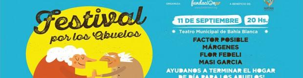 Domingo 11 a las 20hs en el Teatro Municipal para lograr terminar el Hogar de los Abuelos en Bahía Blanca que más lo necesitan